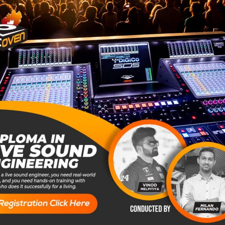 DIPLOMA IN LIVE SOUND ENGINEERING